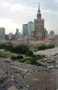 Warszawa-utsikt