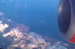Utsikt frå flyet