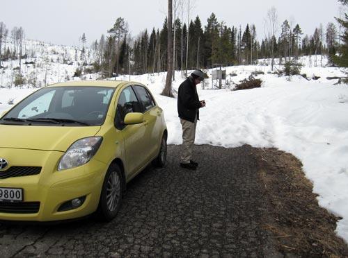 Jardar med GPS