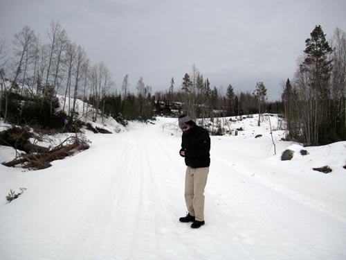 Jardar i snølandskapet