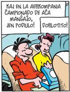 Pondus og Beate snakkar esperanto