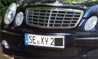 Bilkjenneteikn: SE XY 2xx